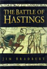 Cover of: The Battle of Hastings