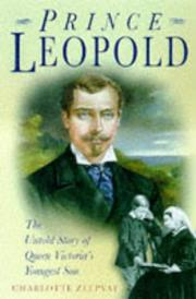 Cover of: Prince Leopold | Charlotte Zeepvat