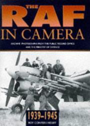 Cover of: The RAF in camera