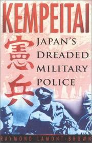 Cover of: Kempeitai | Raymond Lamont-Brown