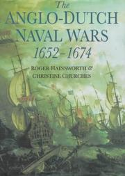 Cover of: The Anglo-Dutch naval wars 1652-1674