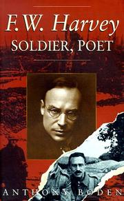 Cover of: F.W. Harvey, soldier, poet