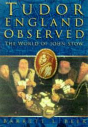 Cover of: Tudor England observed