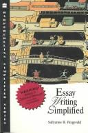 Cover of: Essay Writing Simplified (Harpercollins Simplified Series) | Sallyanne H. Fitzgerald