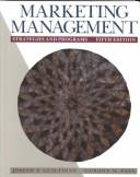 Cover of: Marketing Management | Joseph P. Guiltinan