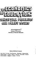 Cover of: Economics of Education