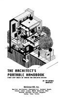 Cover of: The architect's portable handbook