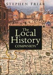 Cover of: The local history companion