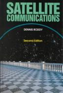 Cover of: Satellite communications