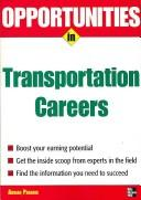 Cover of: Opportunities in Transportation Careers (Opportunities in)