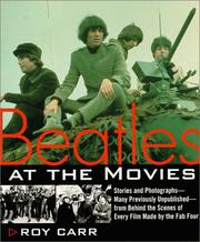 Cover of: Beatles at the Movies