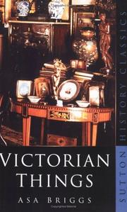 Cover of: Victorian things