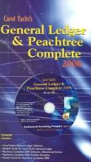 Cover of: Carol Yacht's General Ledger and Peachtree Complete to accompany FAP 18e