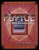 Cover of: PSPICE FOR BASIC MICROELECTRONICS with CD | Joseph G. Tront