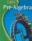 Cover of: Glencoe Pre-Algebra, Student Edition (Glencoe Mathematics) | McGraw-Hill