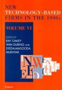 Cover of: New Technology-Based Firms in the 1990s (New Technology-Based Firms) |