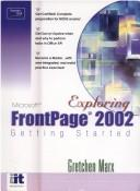 Cover of: Getting Started with Frontpage 2002