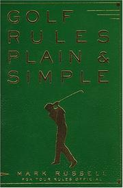 Cover of: Golf rules plain & simple