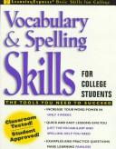 Cover of: Vocabulary & spelling skills for college students | Judith N. Meyers