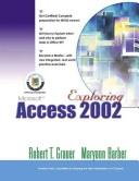 Cover of: Exploring Microsoft Access 2002 (Volume 1)