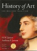 Cover of: History of Art | H. W. Janson