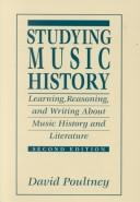 Cover of: Studying Music History