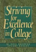 Cover of: Striving for excellence in college