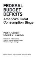 Cover of: Federal Budget Deficits | Paul N. Courant