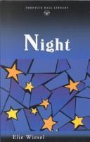 Cover of: Night   Elie Wiesel Elie Wiesel Night Cover