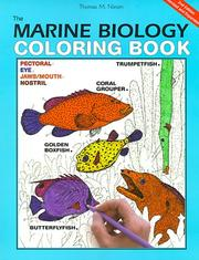 Cover of: marine biology coloring book | Thomas M. Niesen