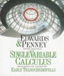 Cover of: Single-variable calculus | C. H. Edwards