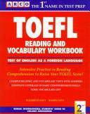 Cover of: Arco Toefl Reading and Vocabulary Workbook (Toefl Reading and Vocabulary Workbook, 2nd ed) | Elizabeth Davy