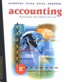 Cover of: Accounting Concepts and Applications |