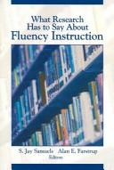 Cover of: What Research Has to Say About Fluency Instruction