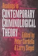 Cover of: Reading In Contemporary Criminological Theory |