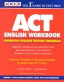 Cover of: ACT English Workbook