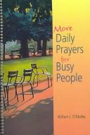 Cover of: More Daily Prayers for Busy People