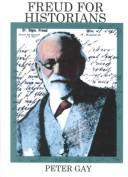 Cover of: Freud for historians