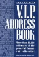 Cover of: V.I.P. Address Book 2002 (VIP Address Book)