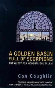 A golden basin full of scorpions by Con Coughlin