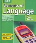 Cover of: Elements of Language | Renee Hobbs