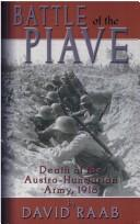 Cover of: Battle of the Piave | David Raab