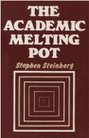Cover of: The academic melting pot