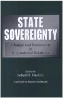 Cover of: State sovereignty |