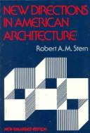 Cover of: New directions in American architecture
