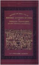 Cover of: History of India | Romesh Chunder Dutt, V. A. Smith, Stanley Lane-Poole, Elliot, H. M. Sir, William Wilson Hunter