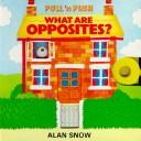 Cover of: What Are Opposites? (Pull 'n Push)