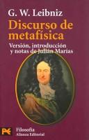 Cover of: Discurso De Metafisica/ Metaphysics Discourse (Humanidades / Humanities)