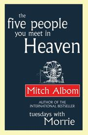 Cover of: The five people you meet in heaven