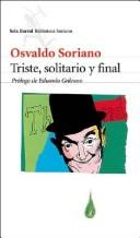 Cover of: Triste, solitario y final